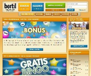 Bertil Bingo och Casino Bonus