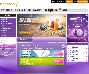 Betsson Bingo och Casino Bonus