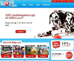Bingo.com med Bingo och Casino Bonus