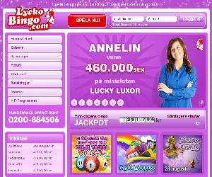 Lycko Bingo och Casino Bonus